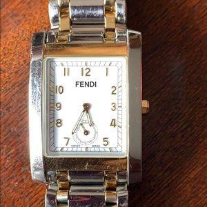 Men's Fendi two tone stainless steel watch